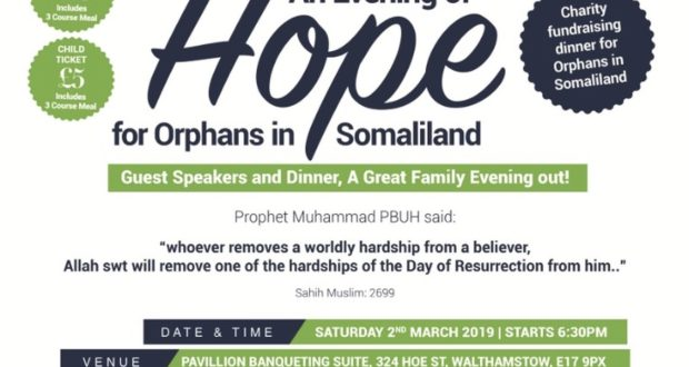 An Evening of Hope for Orphans in Somaliland with Teebah Foundation